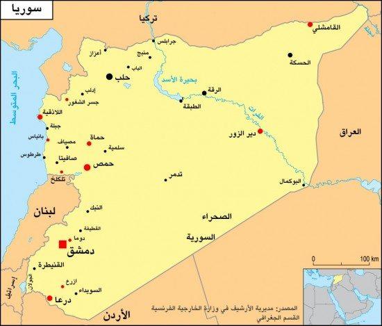 خريطة-سوريا-550x469