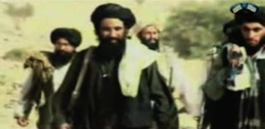 An image of who is thoguht to be Mullah Akhtar Mohammad Mansour, the Taliban's deputy emir.