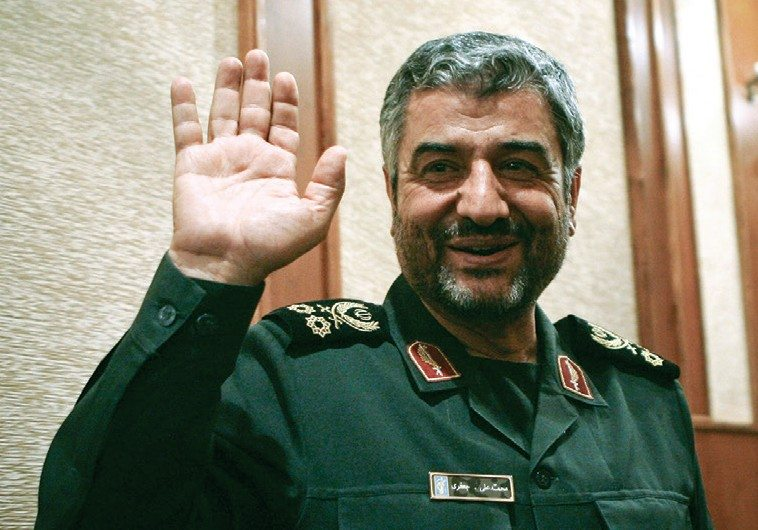 The commander of the IRGC, Mohammad Ali Jafari (Photo: Reuters)