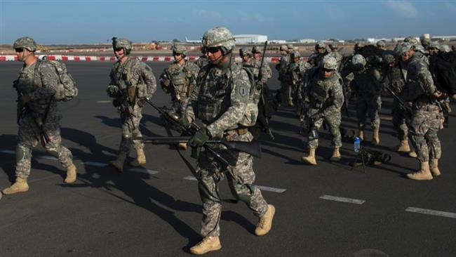 """في ٢٠ مارس ٢٠١٥، انسحب ١٠٠ جندي أميركي كانوا متمركزين في """"قاعدة العند""""، التي استخدموها لتوجيه طائرات بدون طيّار ضد """"القاعدة""""."""