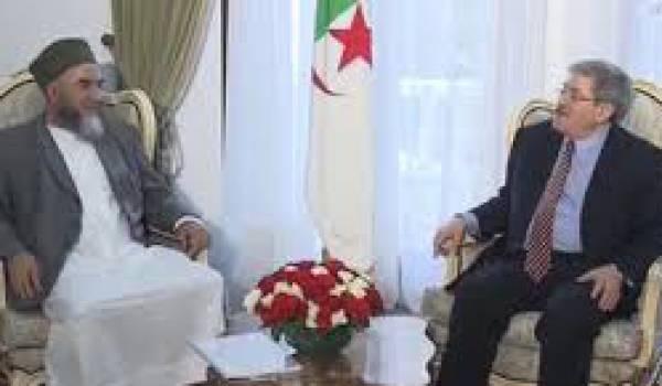 Madani Mezrag reçu par Ahmed Ouyahia, directeur du cabinet de Bouteflika