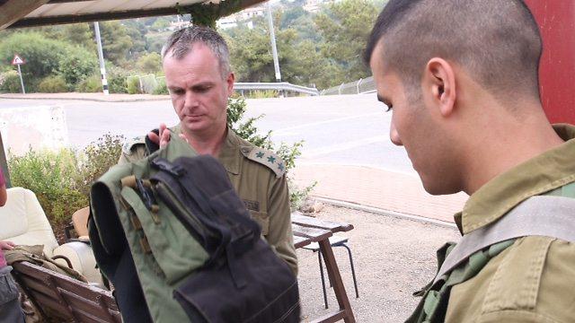 Colonel Madanes (Photo: Motti Kimchi)