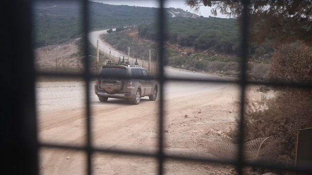 At the Lebanese-Israeli border (Photo: Motti Kimchi)