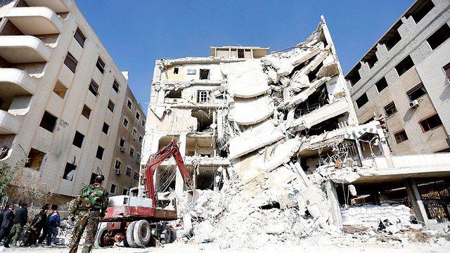 المبنى الذي قتل فيه القنطار والشعلان
