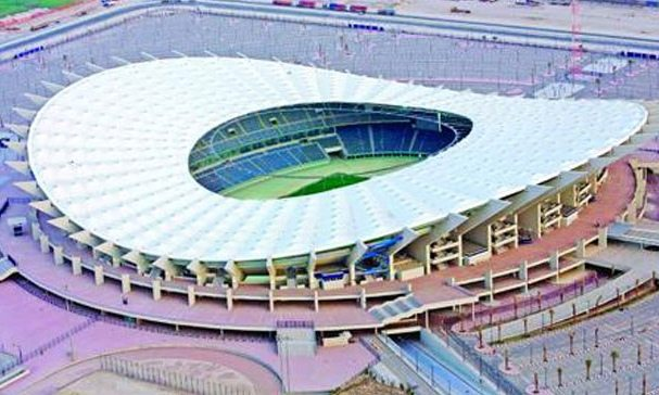 Jaber Al-Ahmad International Stadium at Kuwait City