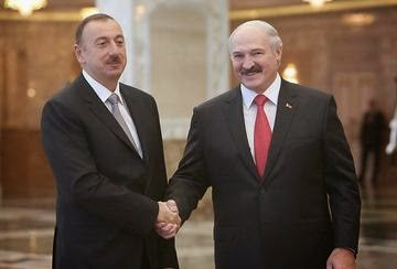 Aliyev et Lukashenko