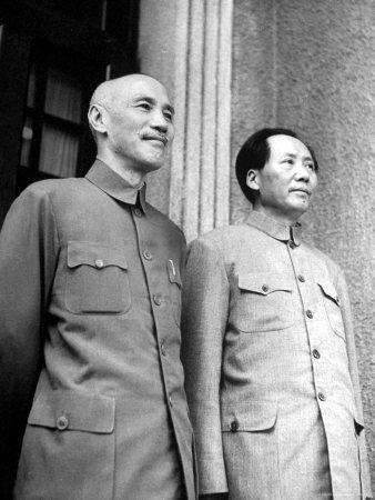 شيان كاي شيك انسحب إلى تايوان مع جيشه بعد انتصار الشيوعيين بقيادة ماو تسي تونغ في ١٩٤٩