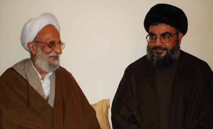 مصباح يزدي وحسن نصرالله