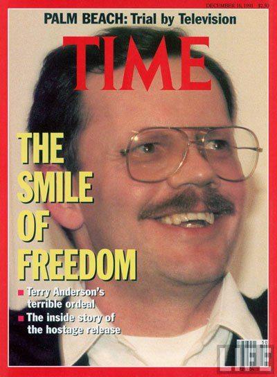 """مراسل """"أسوشيتد برس""""، الصحفي الأميركي تيري أندرسون، خطفه حزب الله في ١٦ مارس ١٩٨٦ وأطلق سراحه في ديسمبر ١٩٩١"""