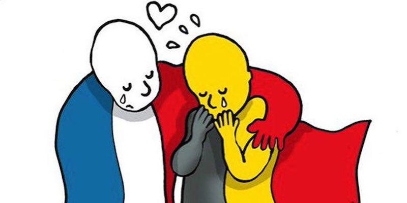 Attentats-des-dessins-en-soutien-a-Bruxelles