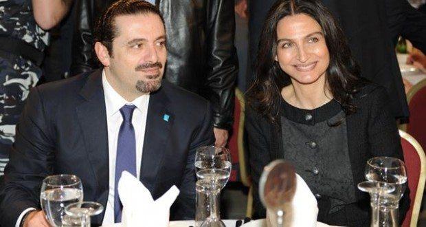 رئيسة الكتلة الشعبية ميريام سكاف مع الرئيس سعد الحريري