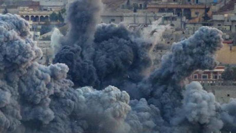 """الضربة الجوية الأميركية ضد مستشفى """"أطباء بلا حدود"""" في مدينة """"قندوز"""" بأفغانستان، وقد أسفرت عن سقوط أكثر من ٤٠ قتيلاً"""