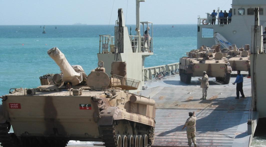 إنزال بحري عربي في عدن