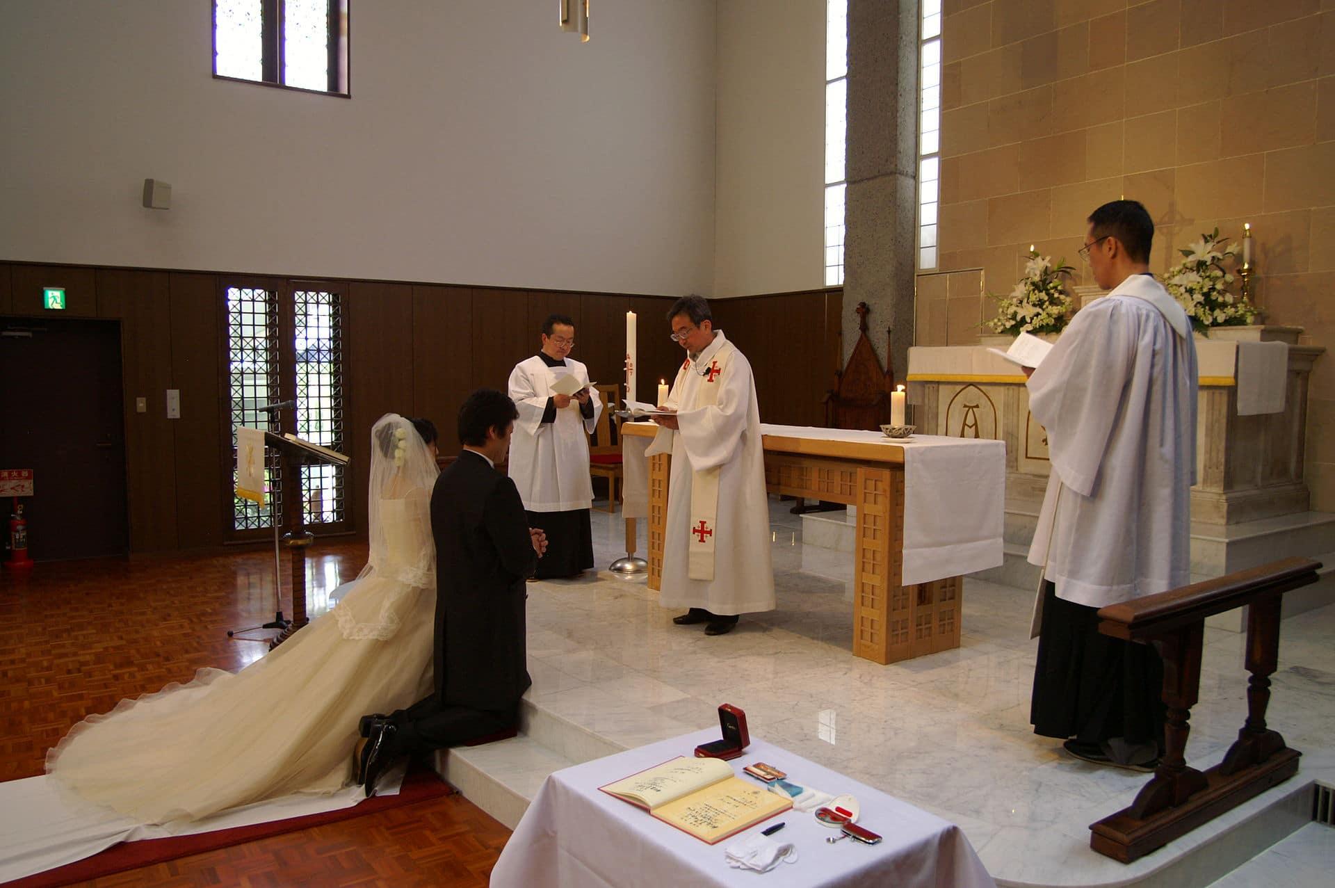"""زواج مسيحي في """"كيوتو"""