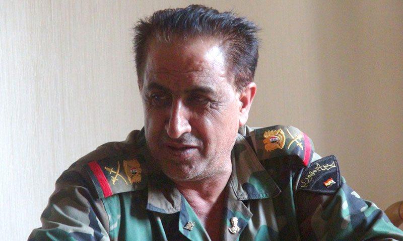 """اللواء زيد صالح، رئيس """"اللجنة الأمنية والعسكرية"""" في حلب"""