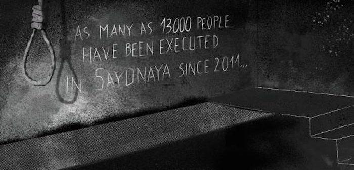 Syria: 13,000 secretly hanged in Saydnaya military prison – shocking new report
