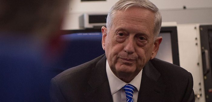 Full transcript: Defense Secretary James Mattis' interview with The Islander