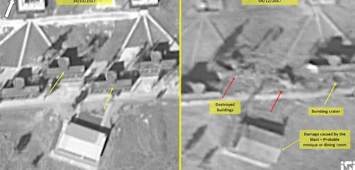 Satellite photos reveal damage to bombed Iranian base in Syria