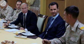 Putin's surprise Syria visit aimed at threatening Assad