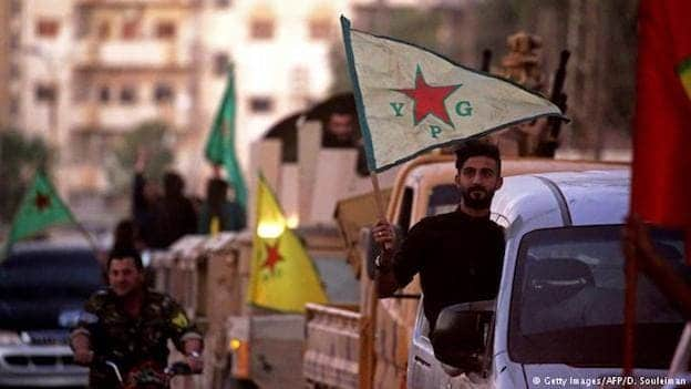 kurdish forces in Syria
