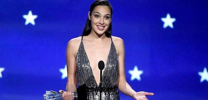 Gal Gadot causes furor by sporting Lebanese designer's dress