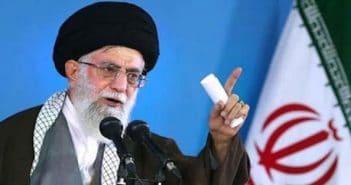 IRAN PROTESTS Khamenei