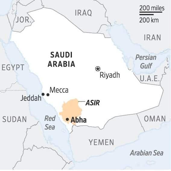 Abha in Saudi Arabia