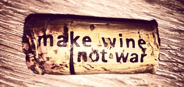 Make Wine Not War: Wineism's recipe for a sustainable political future