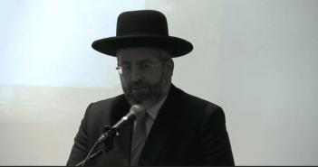 Chief rabbi demands Nation-State Law amendments