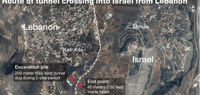"""(تحديث: بدأت فعلاً- بالفيديو):   ضربة إسرائيلية وشيكة على أنفاق حزب الله في """"كفركلا""""؟"""