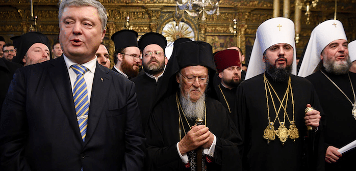 Split between Ukrainian, Russian churches shows political importance of Orthodox Christianity