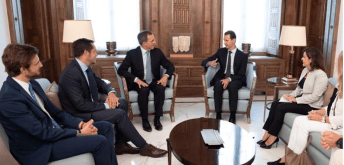 Des personnalités arabes condamnent la visite des députés européens de l'extrême droite en Syrie.