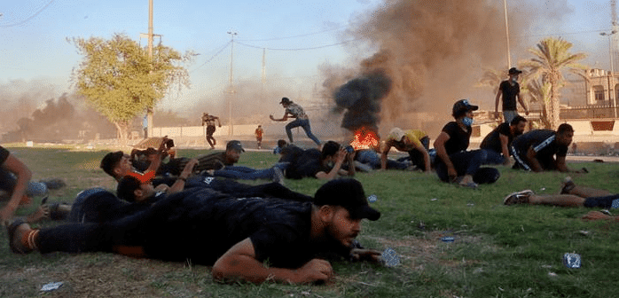 """وبيروت، متى..؟:   ميليشيات إيران نشرت """"قناصة"""" وقتلت ١٠٠ متظاهر في احتجاجات العراق"""