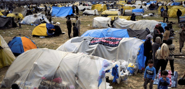 Refugees and Shantytowns in MENA and Beyond Imperil Global Public Health