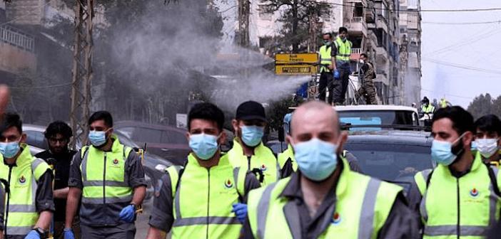 Étalage de force du Hezbollah dans sa lutte contre la pandémie