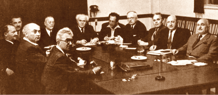 Intelligence Documents Reveal What Ben-Gurion Learned on the Eve of Declaring Israel's Independence